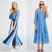 Terre Bleue Lange jurk/rok