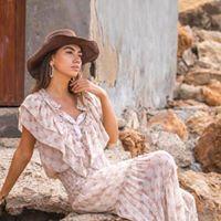 Isla Ibiza rok en blouse
