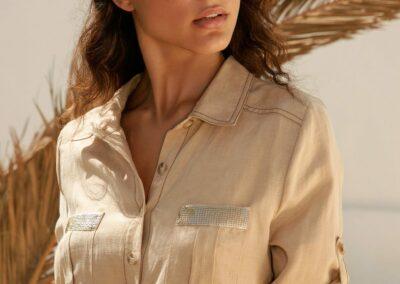 Atmos ecru blouse