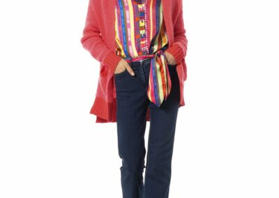 Caroline Biss flashy blouse